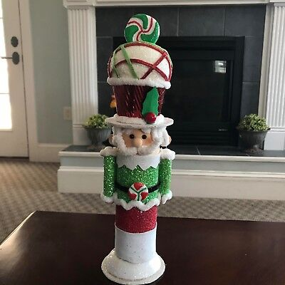 Nutcracker Decoration Candy theme RAZ Imports 15 inches NEW sp 3406005 RETIRED! (Retirement Decorations Themes)