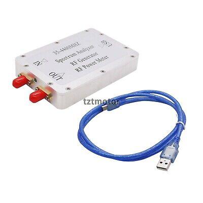 35m-4.4g Usb Signanl Generator Spectrum Analyzer Tracking Source Rf Power Meter