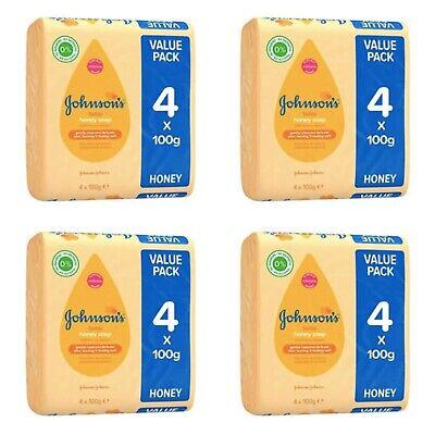 Johnson's baby soap with honey