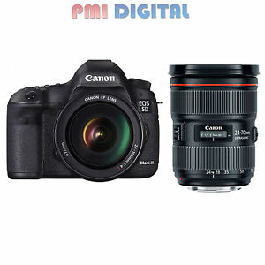 Canon EOS 5D Mark III BODY & Canon 24-70mm f/2.8L MARK II USM Lens   NEW!!