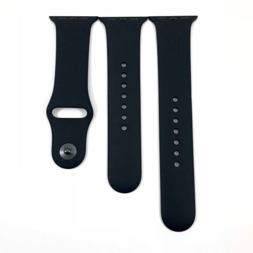 Genuine Apple Watch Sport Band 38mm S/M & M/L Black, Space Black - MJ4F2ZM/A