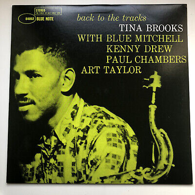 Tina Brooks ‎– Back To The Tracks Blue Note ‎– ST-84052 American Reissue 1999 for sale  Shipping to Nigeria