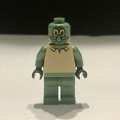 Lego Spongebob Squarepants 3825 3827 Squidward Minifigure Figure bob003