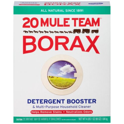 20 Mule Team Borax Detergent Booster And Multi Purpose Household Cleaner 65 Oz