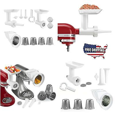 KitchenAid Stand Mixer Attachment Slicer Food Grinder Rotor Shredder Stuffer New