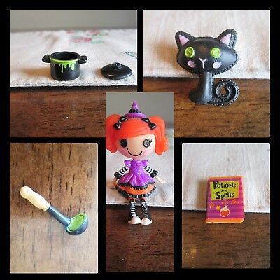 Lalaloopsy MINI Candy Broomsticks HALLOWEEN Edition Pot ladle book of spell cat ](Halloween Ladle)