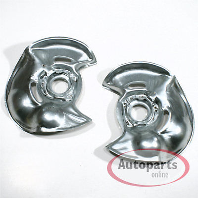 Mercedes E Klasse W124 - 2 Stück Spritzbleche Deckbleche Ankerbleche für vorne*