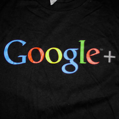 Google  Plus Logo T Shirt Small Search Engine Social Media Internet Tech