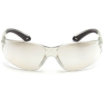 Pyramex Itek Safety Glasses With Indoor Outdoor Mirror Lens