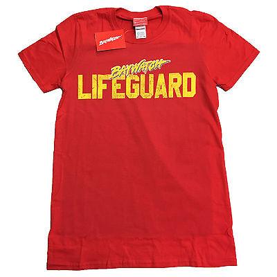 Baywatch Rettungsschwimmer Offiziell Kostüm Zac Effron The Rock T-Shirt bis XXL ()