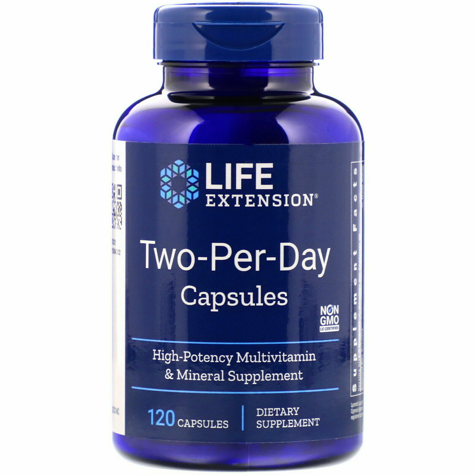 Two Per Day Life Extension 120 Caps