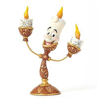 Enesco Disney Traditions Jim Shore Beauty & The Beast Lumiere Figurine 4049620