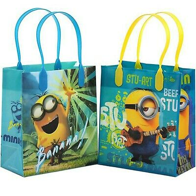 Dispicable Me Party (12PCS Dispicable Me Minions Goodie Party Favor Gift Birthday Loot Bag)