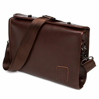 Men's Briefcase Casual Business Leather Shoulder Bag Satchel Messenger Handbag