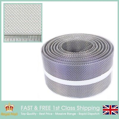 HEAVY DUTY RODENT MESH 30M X 100MM ROLL - STAINLESS STEEL PEST MESH