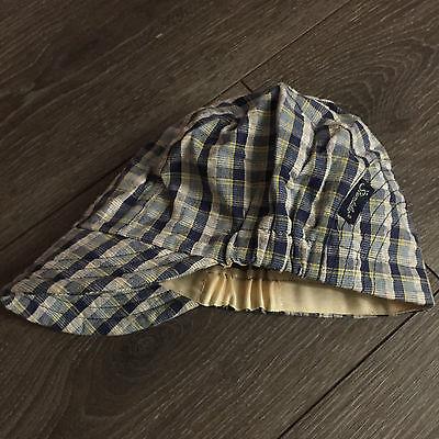 Base-Cap, STERNTALER, Baseball Cap *blau kariert* Gr. 51, Baumwolle, w.NEU