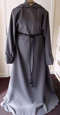 DARK GREY Gandalf robe perfect for fancy dress - Gandalf Robe