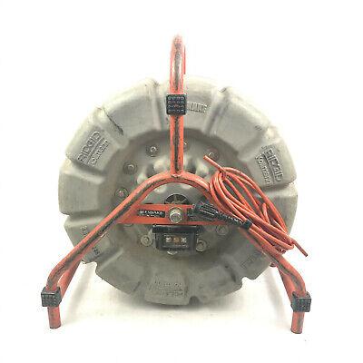 Ridgid Seesnake Count Plus Mini Camera Reel 125 Black White Sewer Inspection