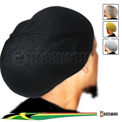 Rasta Kappe Dread Tam Mützen Barett Bonet Africa Krone Reggae Marley Jamaika M Rasta Tam