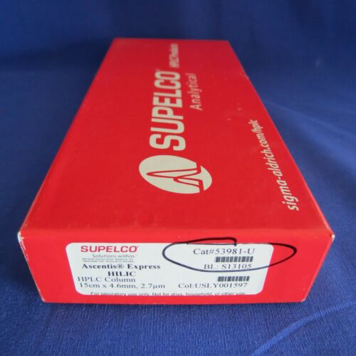 Supelco Ascentis Express HILIC HPLC Column 150 x 4.6mm 2.7um # 53981-U