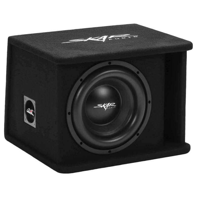 "NEW SKAR AUDIO SDR-1X10D2 1200 WATT SINGLE 10"" LOADED VENTED SUBWOOFER ENCLOSURE"