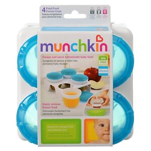 New in Package Munchkin Fresh Food Freezer Cups