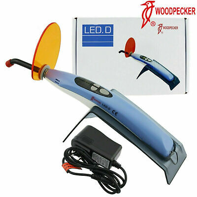 100 Woodpecker Dental Curing Light Wireless Led D Resin Cure Lamp 2300mwc
