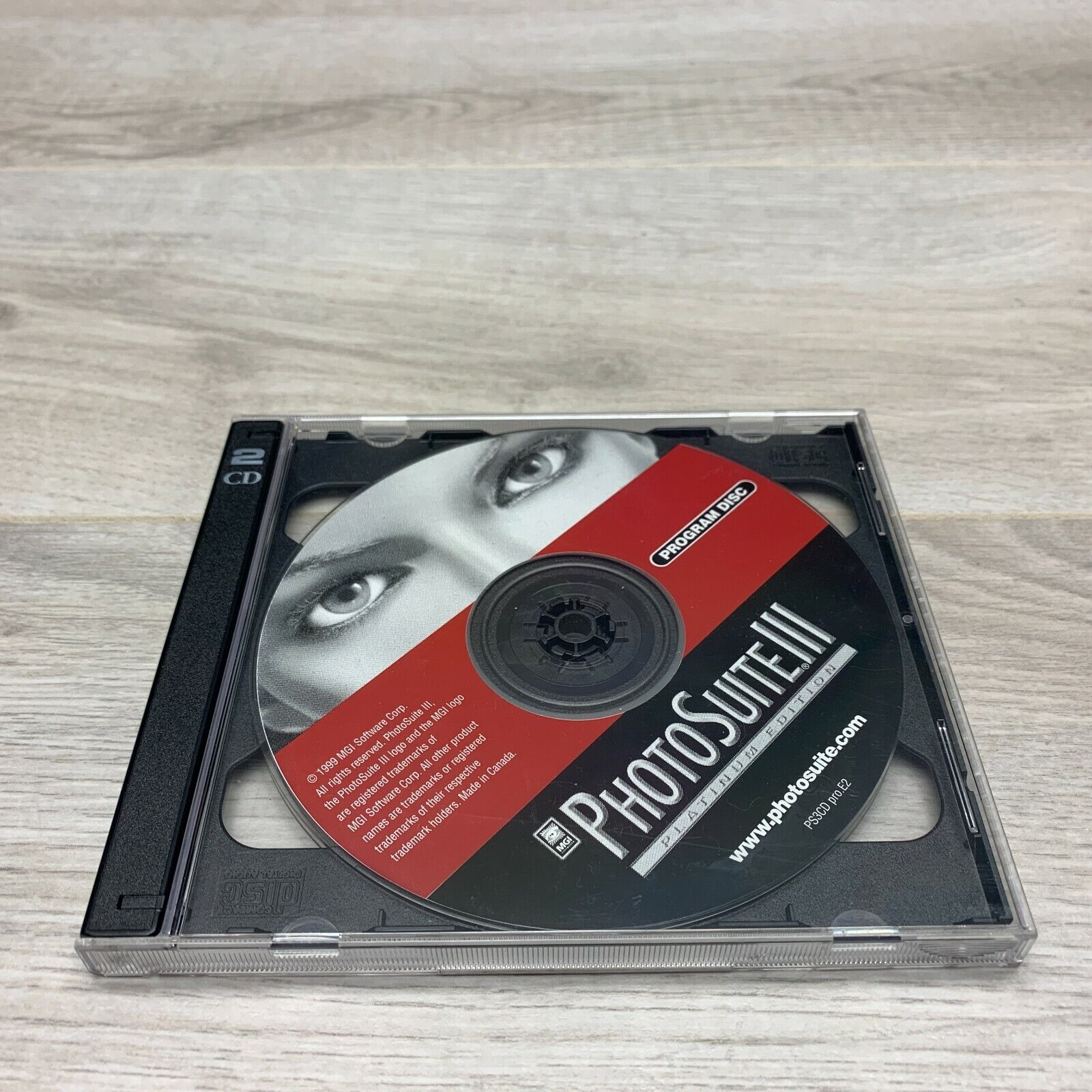 PhotoSuite III Platinum Photography Image Edit Software Windows 95/98/NT