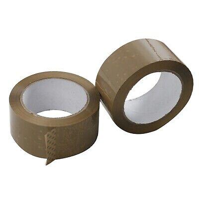 12 Rolls 2.5 Mil Thick 2x110 Yard Premium Brown Carton Box Sealing Packing Tape