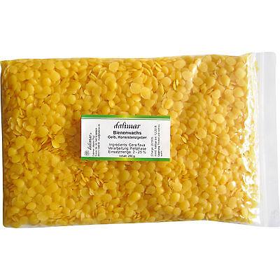 Dalimar Bienenwachs-Pastillen 100 % rein für Naturkosmetik Konsistenzgeber 250 g