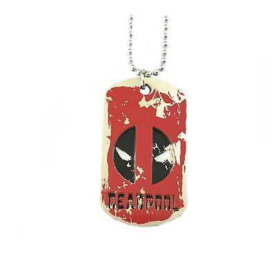 Deadpool Tags Movie TV Show Series Pendant Charm Necklace