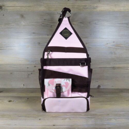 Amms Tote-Ally Cool On The Go II 2 Craft Tote Carry Bag Carousel Base Pink Camo