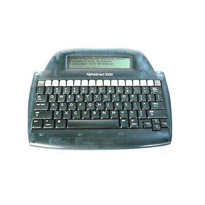 Alphasmart Inc. Alpha Smart 3000 Word Processor Portable Digital Typewriter 2