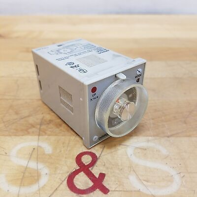 Omron H3ba Timer 0.5s To 100h 100110120 Vac - Used