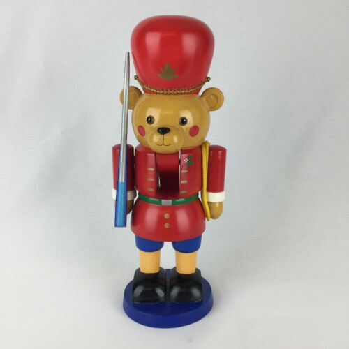 Vintage Teddy Bear Soldier Nutcracker Christmas Applause  ~ RARE ~ Hard To Find