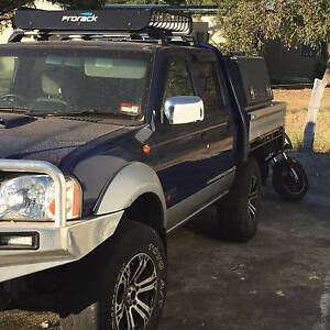 Nissan D22 2.5lt turbo diesel Swap for Suzuki Sierra Cable Beach Broome City Preview