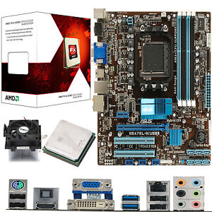 AMD X4 Core FX-4100 3.6Ghz & ASUS M5A78L-M USB3 - Board & CPU Bundle