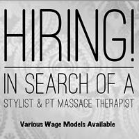 Hiring Stylist & PT Masssge Therapist Bayers Lake