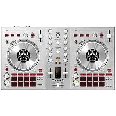 Pioneer Limited Edition DDJ-SB3 2-Channel Serato Lite DJ Controller in Silver