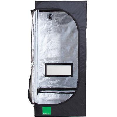 Budbox Lite 60 x 60 x 140cm Hydroponic Silver Mylar Indoor Grow Room Tent
