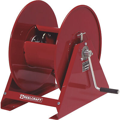 Reelcraft Pressure Washer Hose Reel- 5000 Psi 38in X 100ft. Capacity H18006 M