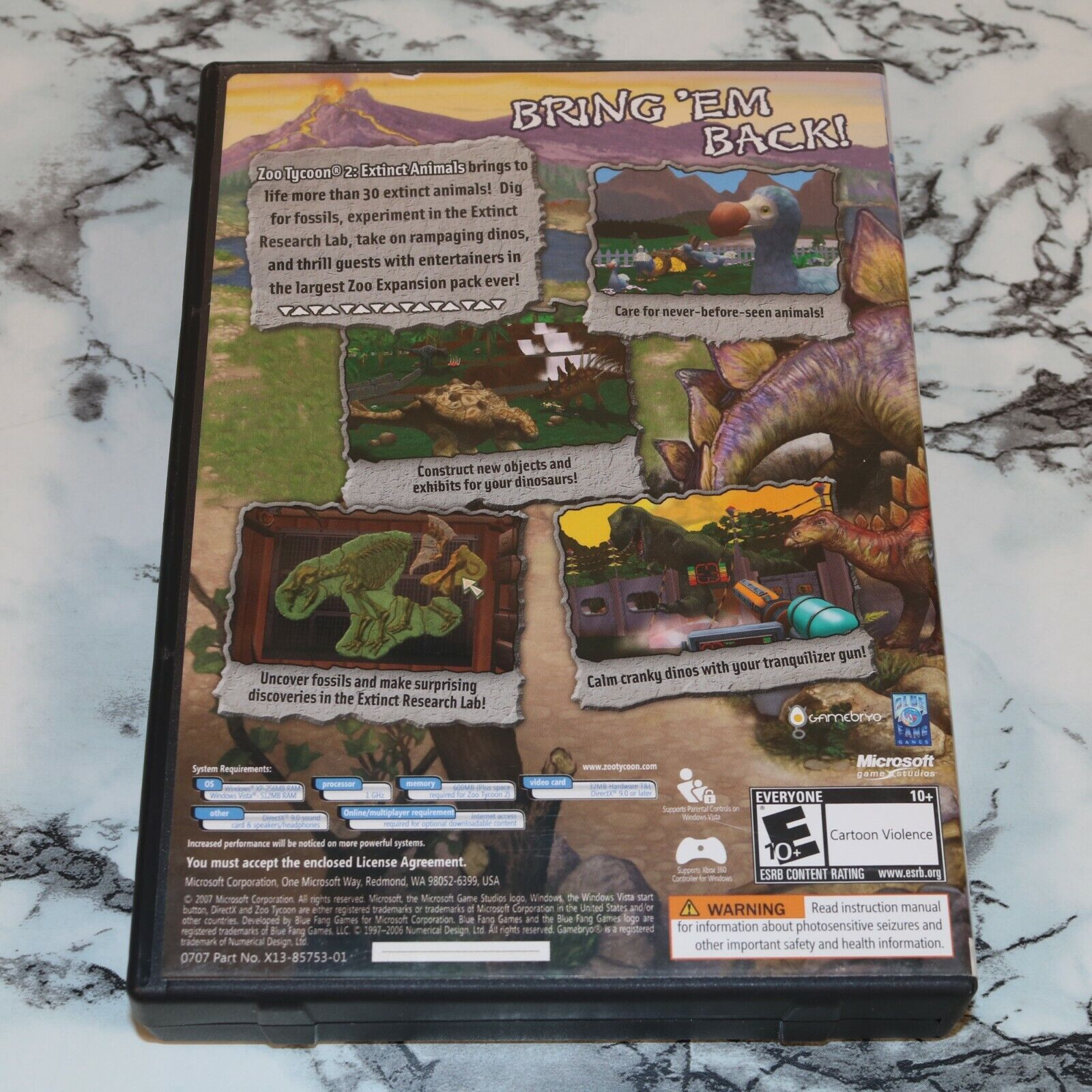 Zoo Tycoon 2 Two - Extinct Animals Expansion Pack PC CD-ROM, 2007  - $11.18