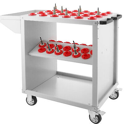CNC Toolscoot Tool Cart for 30 Taper Tool Holders CAT30 BT30