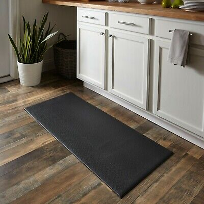 "Anti Fatigue Kitchen Floor Mat 45""x20"" Comfort Memory Foam Non Slip Rag Washable"