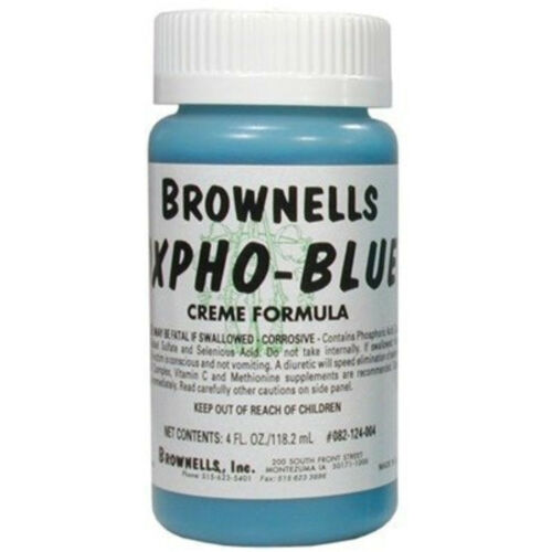 Oxpho-Blue Professional Grade Cold Gun Blue (Cream Formula)