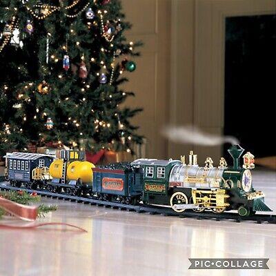 Musical Sound Lights & Realistic Smoke Around the Christmas Tree Train Set