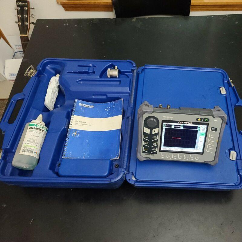 Olympus Epoch 600 Ultrasonic Flaw Detector GE Krautkramer Panametrics NDT