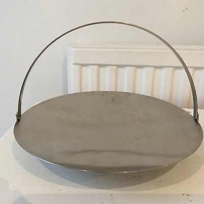 Robert Welch for Old Hall Cake Stand in Stainless Steel in Box Unused