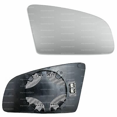 AUDI A4 2001-/>2007 ASPHERIC WING//DOOR MIRROR GLASS RIGHT HAND SIDE