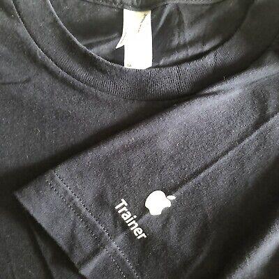 Apple store Trainer T-Shirt Rare Employee Medium